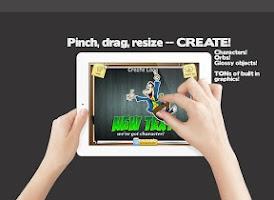 Screenshot of Logo Maker & Graphics Creator