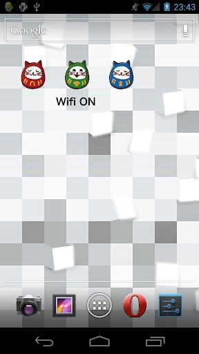 ねこだるま Wifi切替