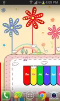 Screenshot of Mini Piano Live Wallpaper