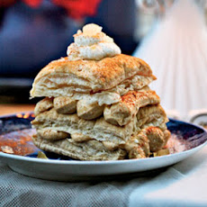 Pumpkin-Cream Cheese Napoleons