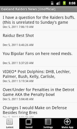 Oakland Raiders News NFL