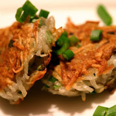 Kittencal's Crispy Potato and Green Onion Pancakes (Latkes)