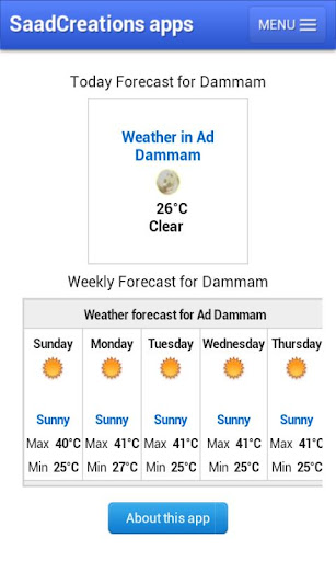 Weather Dammam