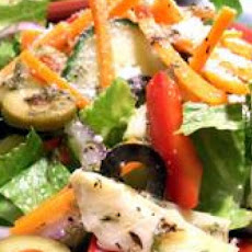 Spicy Italian Salad