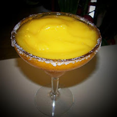 Frozen Mango Rum Cocktail