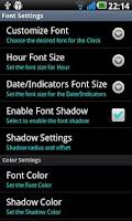 Screenshot of Super Clock Wallpaper Pro