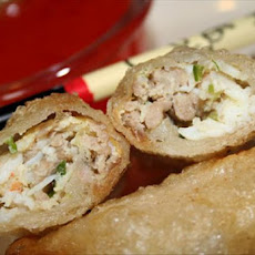 Crab and Pork Spring Rolls