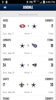 Screenshot of Dallas Cowboys Mobile