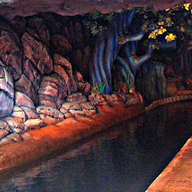 Disney Roads by Valerie Bombino - Landscapes Caves & Formations ( amusement park rides, amusement park, disney caves, disney rides, caves, disney,  )