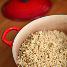 Basic Baked Brown Rice Pilaf