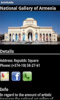 Screenshot of ArmGuide - Armenia - Yerevan