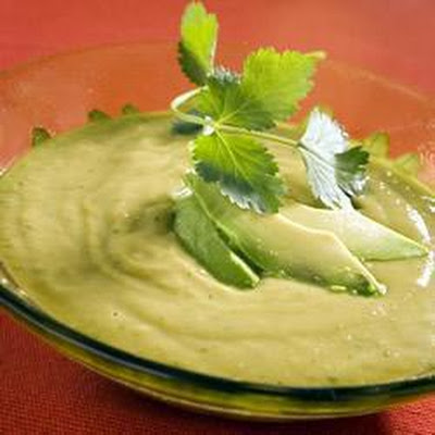 Avocado And Coriander Soup