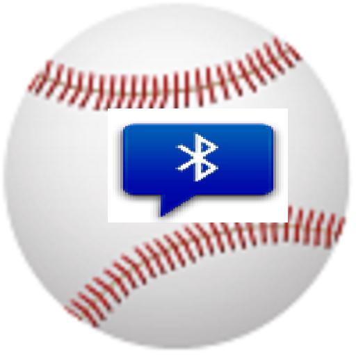 Bluetooth Catchball 2 キャッチ 野球 LOGO-APP點子