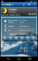 Screenshot of WeatherSnow