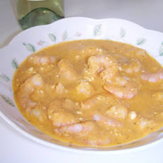 Feta Shrimp Soup