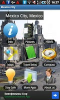 Screenshot of Mexico City Travel Guide