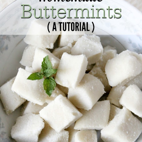 Butter Mints {A Tutorial}