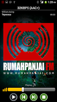 Screenshot of RUMAH PANJAI FM