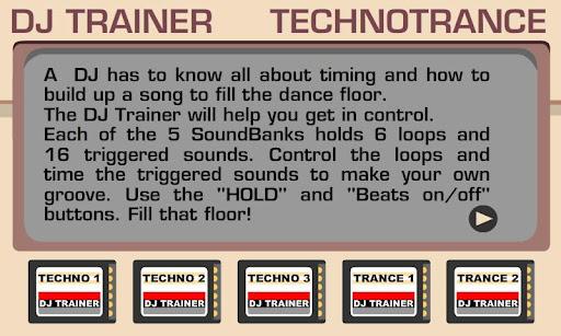 DJ Trainer TechnoTrance