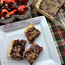 Shortbread Cherry Bars