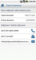 Screenshot of Safety Mobile