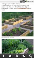Screenshot of Vegetable Gardening Guide
