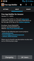 Screenshot of Free App Notifier For Amazon