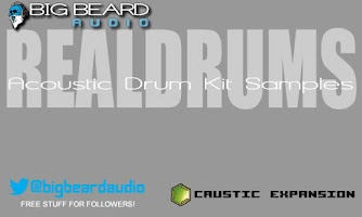 Screenshot of Caustic Pack REALDRUMS VOL. 1