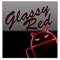 GOKeyboard Theme Glassy Red icon