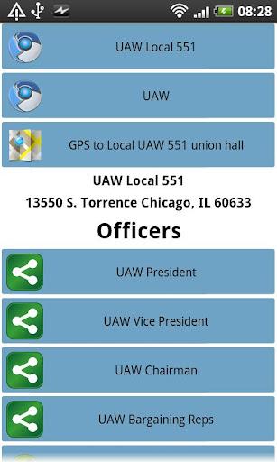 UAW Local 551