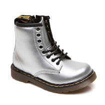 Dr Martens Brooklee Silver Boot BOOTS