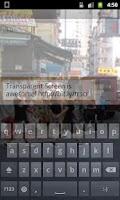 Screenshot of Transparent Screen