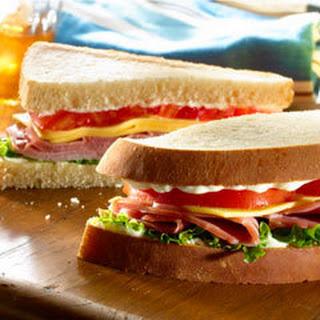 Ham Cheese Lettuce Tomato Sandwich Recipes