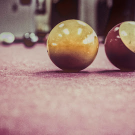 Memories by Autumn Callahan - Sports & Fitness Cue sports ( billiards, macro, billiard balls, pool, pool table )