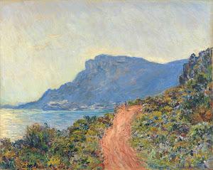 RIJKS: Claude Monet: La Corniche near Monaco 1884