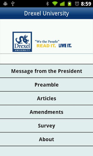 Drexel U.S. Constitution