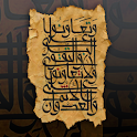 Islamic manuscript wallpaper icon