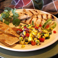 Stove Top Margarita Chicken With Fresh Corn Relish