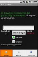 Screenshot of Hızlı Yazma -01-