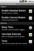 Screenshot of Say Time