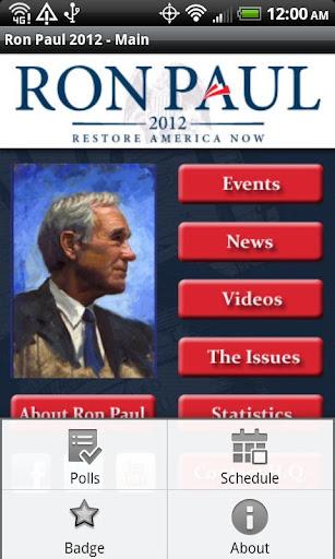 Ron Paul 2012 Election