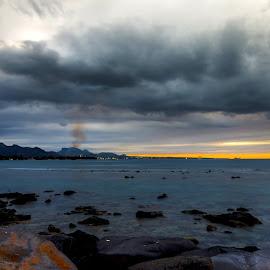 Golden Hour by Sanjeev Goyal - Landscapes Weather ( get, set, run, and, go )