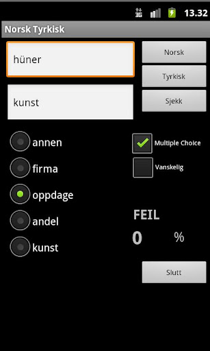 Norwegian Turkish Dictionary