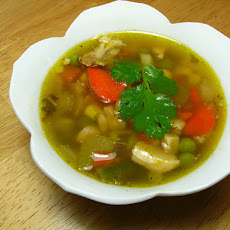 Low-cal vegetable soup