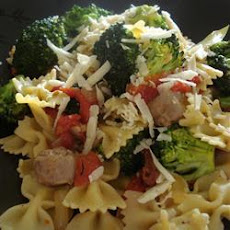 Spicy Sausage with Rapini Pasta