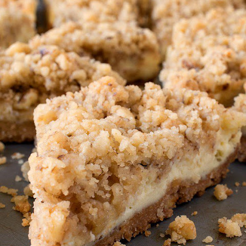 Cream Cheese Crumb Bars