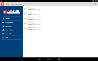 Screenshot of Fabasoft Folio