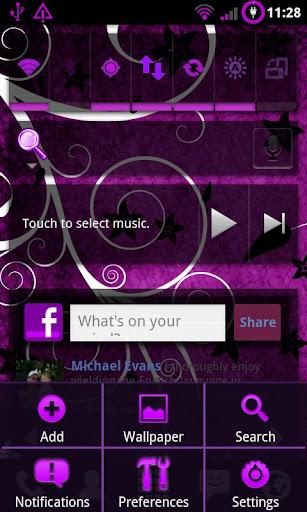 Purple Theme Chooser