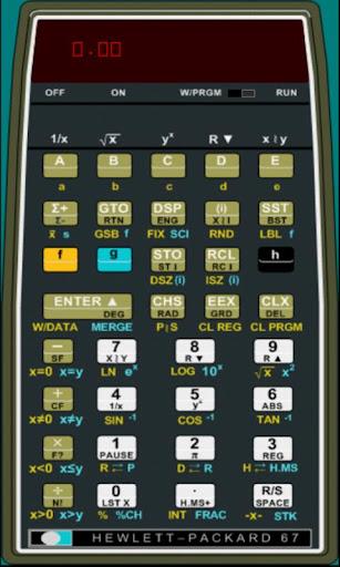 HP67 Calculator