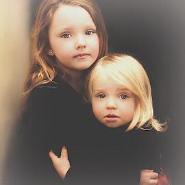 Loving My Sister by Cheryl Korotky - Babies & Children Child Portraits